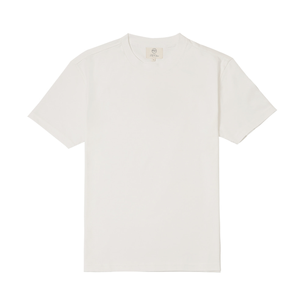 SILKET COTTON T-SHIRT(Off white)Fillchic(필시크)