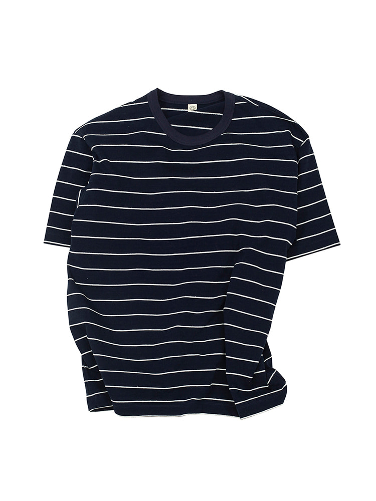 ATT COTTON BASQUE SHIRT NAVYOLDBē(올드비)