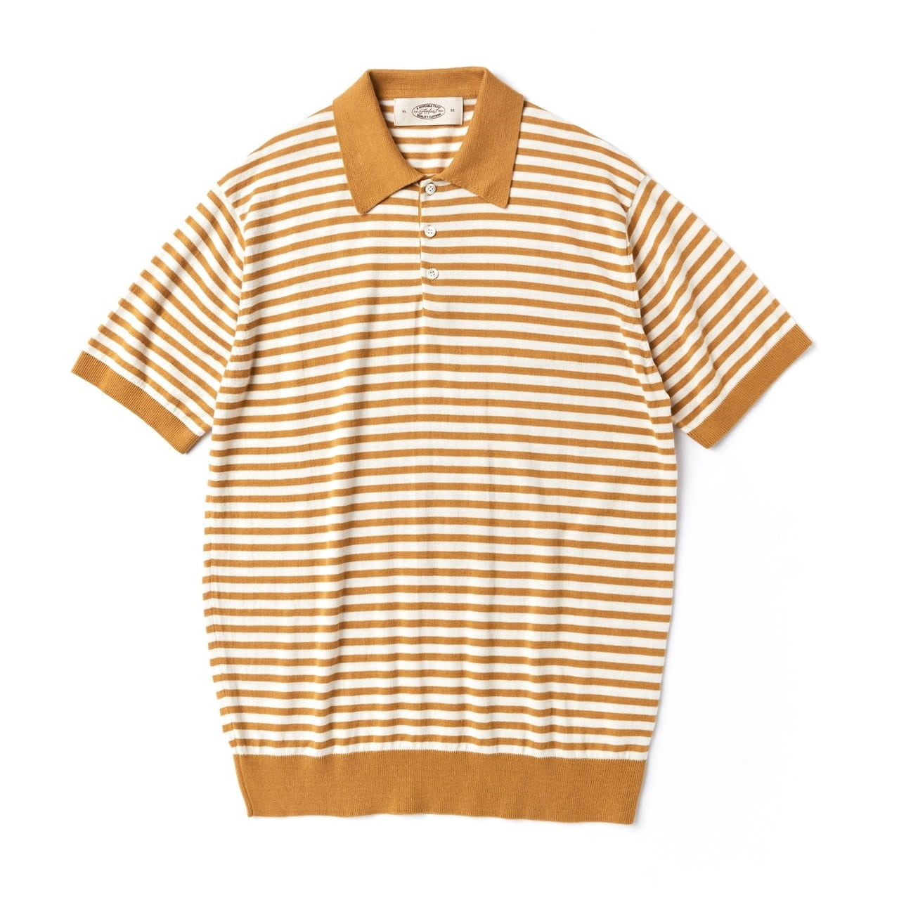 PABLO COLLAR SUMMER KNITWEAR YELLOWAMFEAST(암피스트)