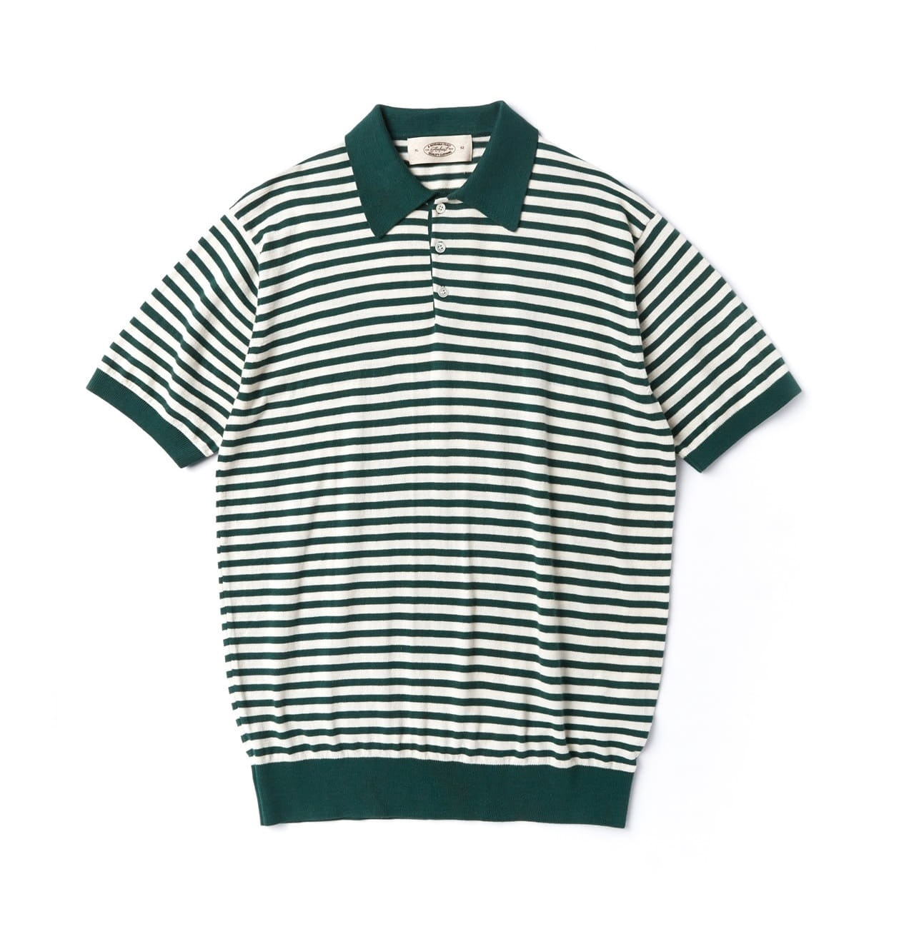 PABLO COLLAR SUMMER KNITWEAR GREENAMFEAST(암피스트)