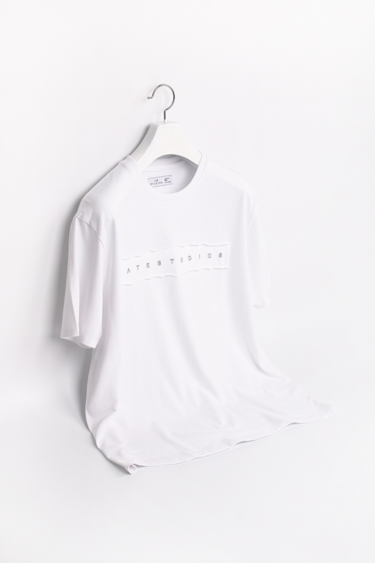 ATE STITCHED T-SHIRTS / WHITEATE STUDIOS(에이티이 스튜디오스)