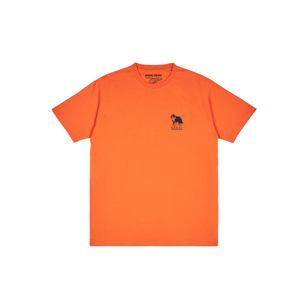 RESQ DOG BARRY TEE [ORANGE]THE RESQ&Co(더레스큐컴패니)