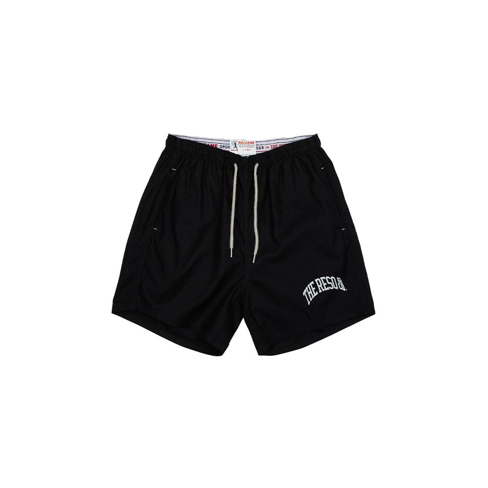 BALLGAME TRAINING SHORTS [BLACK]THE RESQ&Co(더레스큐컴패니)