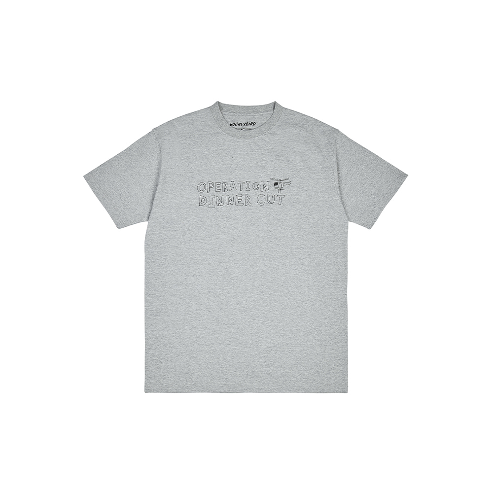 OPERATION TEE [MELANGE GREY]THE RESQ&Co(더레스큐컴패니)