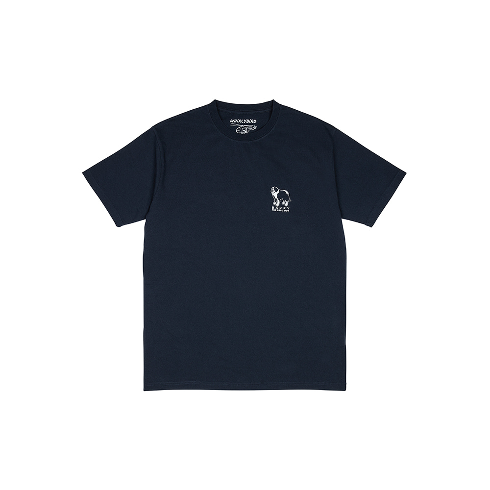 RESQ DOG BARRY TEE [NAVY]THE RESQ&Co(더레스큐컴패니)