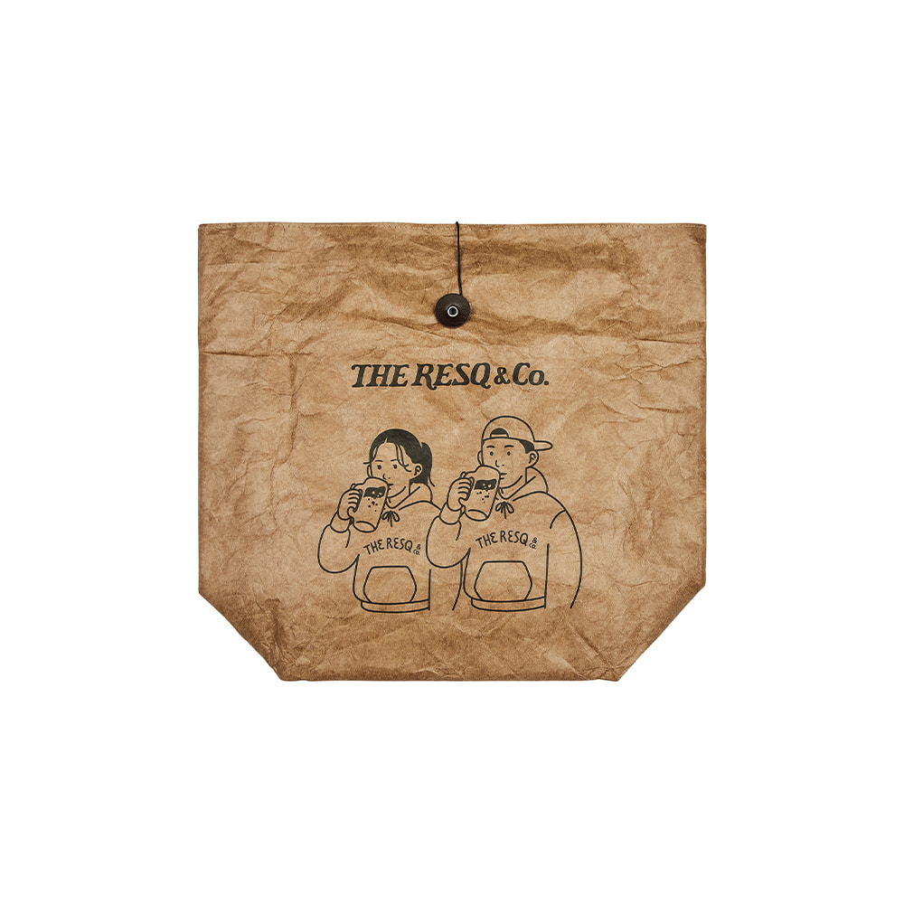WHiRLYBiRD PICNIC BAG [CRAFT PAPER]THE RESQ&Co(더레스큐컴패니)