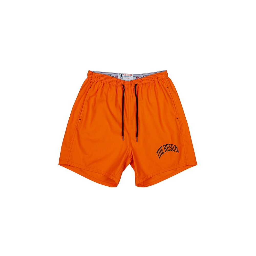 BALLGAME TRAINING SHORTS [ORANGE]THE RESQ&Co(더레스큐컴패니)
