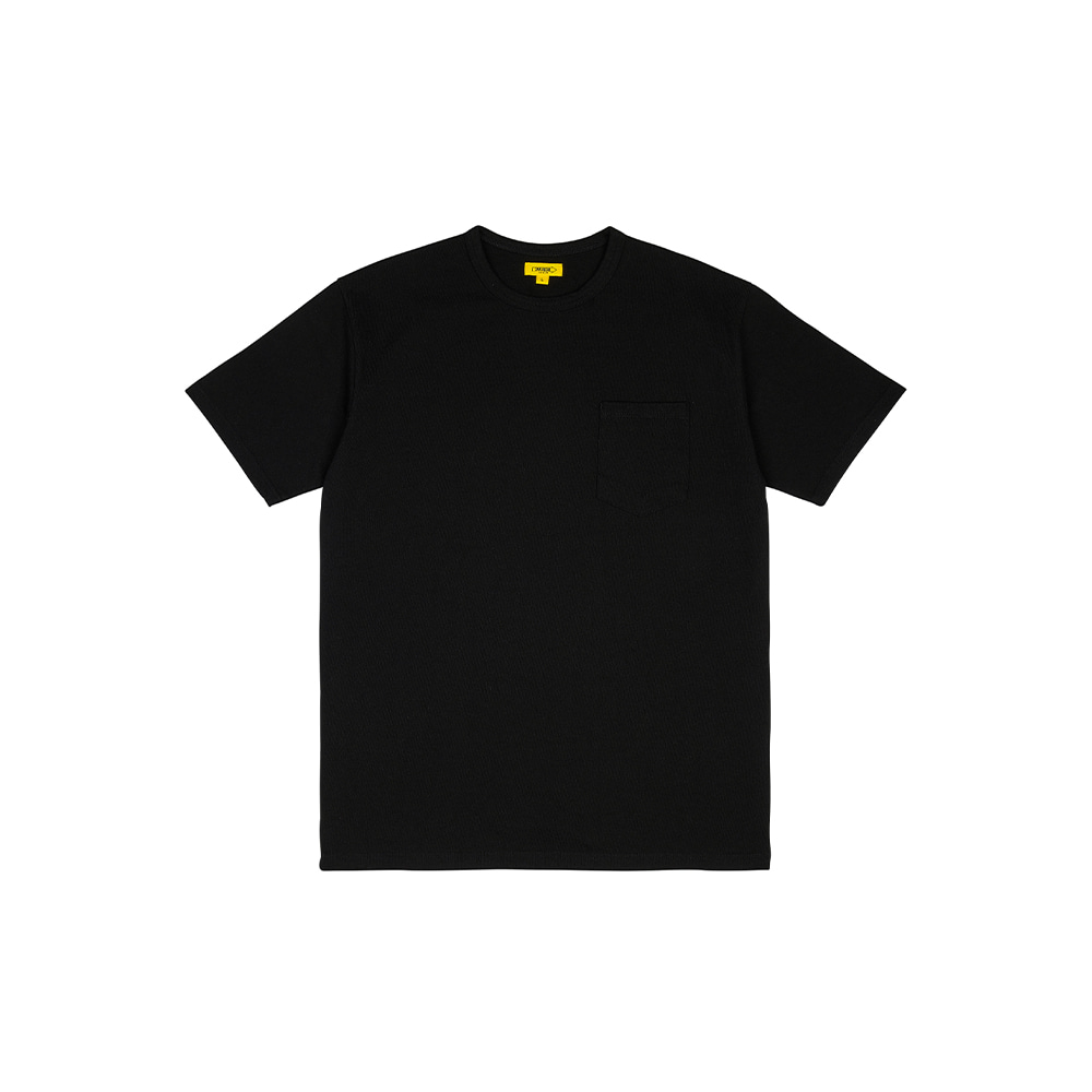 POCKET TEE [BLACK]THE RESQ&Co(더레스큐컴패니)