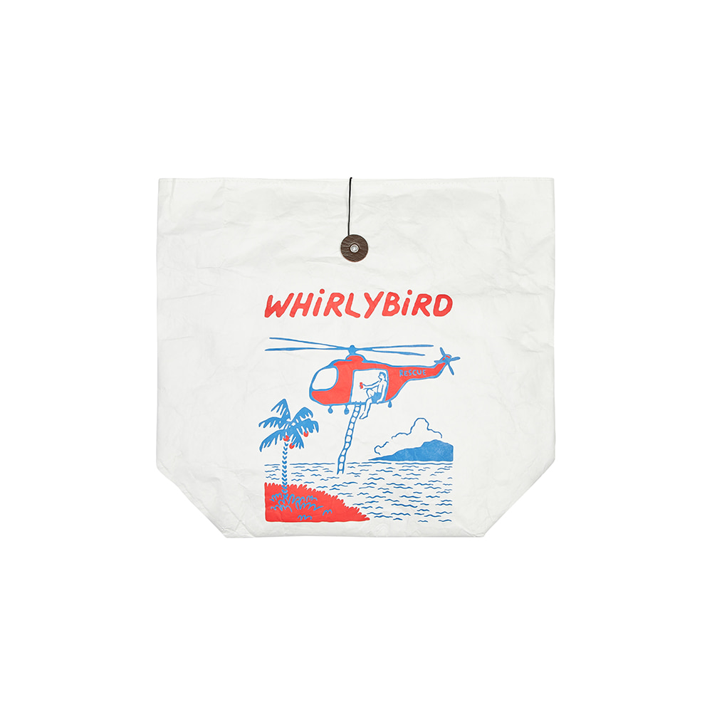 WHiRLYBiRD PICNIC BAG [WHITE]THE RESQ&Co(더레스큐컴패니)
