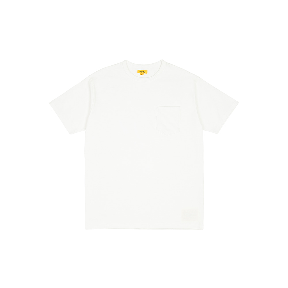POCKET TEE [WHITE]THE RESQ&Co(더레스큐컴패니)