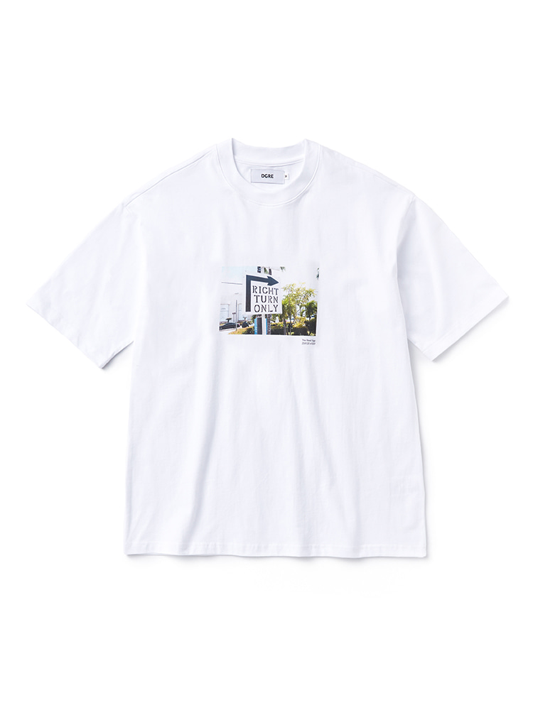 The Road Sign T-shirtsDGRE(디그레)