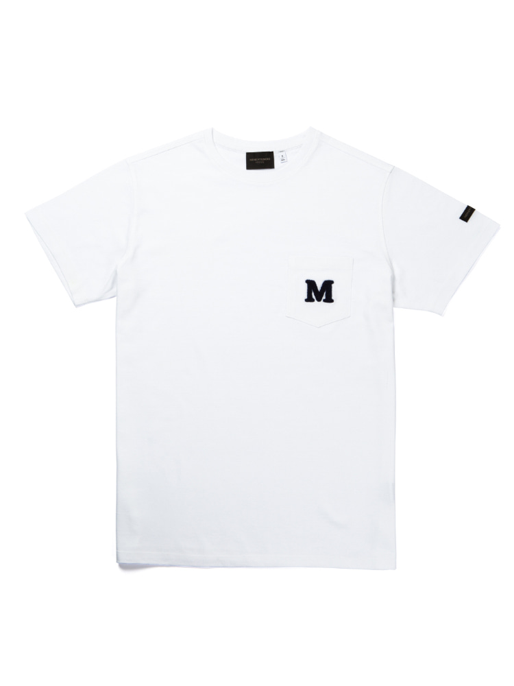 MORI SYMBOL POCKET    SHORT SLEEVE T-SHIRTS whiteMEMENTOMORI(메멘토모리)