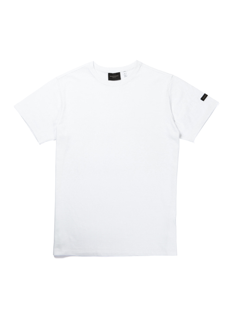 MORI SOLID  SHORT SLEEVE T-SHIRTS whiteMEMENTOMORI(메멘토모리)