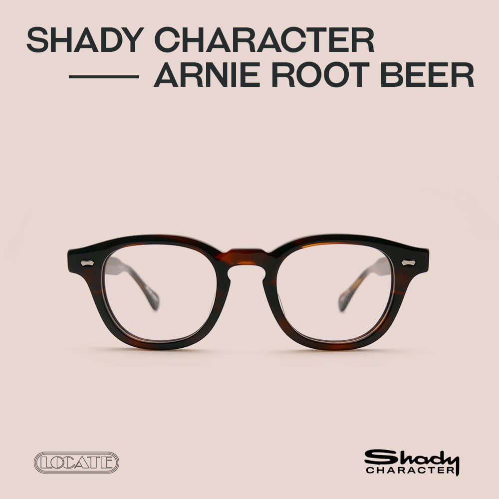 ARNIE 46 (ROOT BEER)Shady Character(쉐이디 캐릭터)