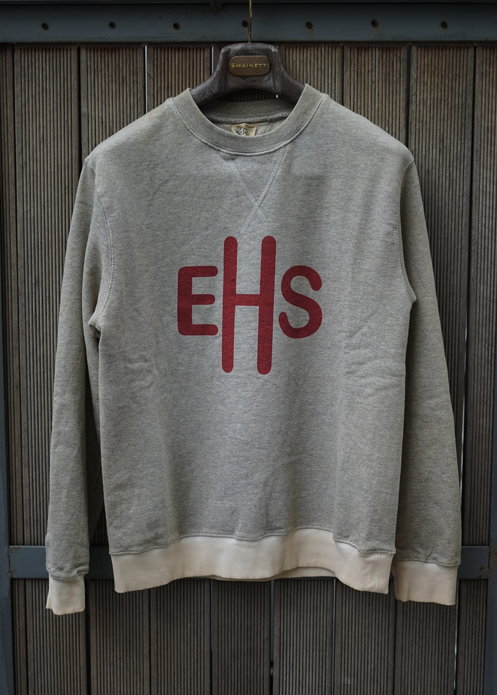 VINTAGE PRINT Sweat shirt GreyEAST HARBOUR SURPLUS이스트하버서플러스 X 와일드동키