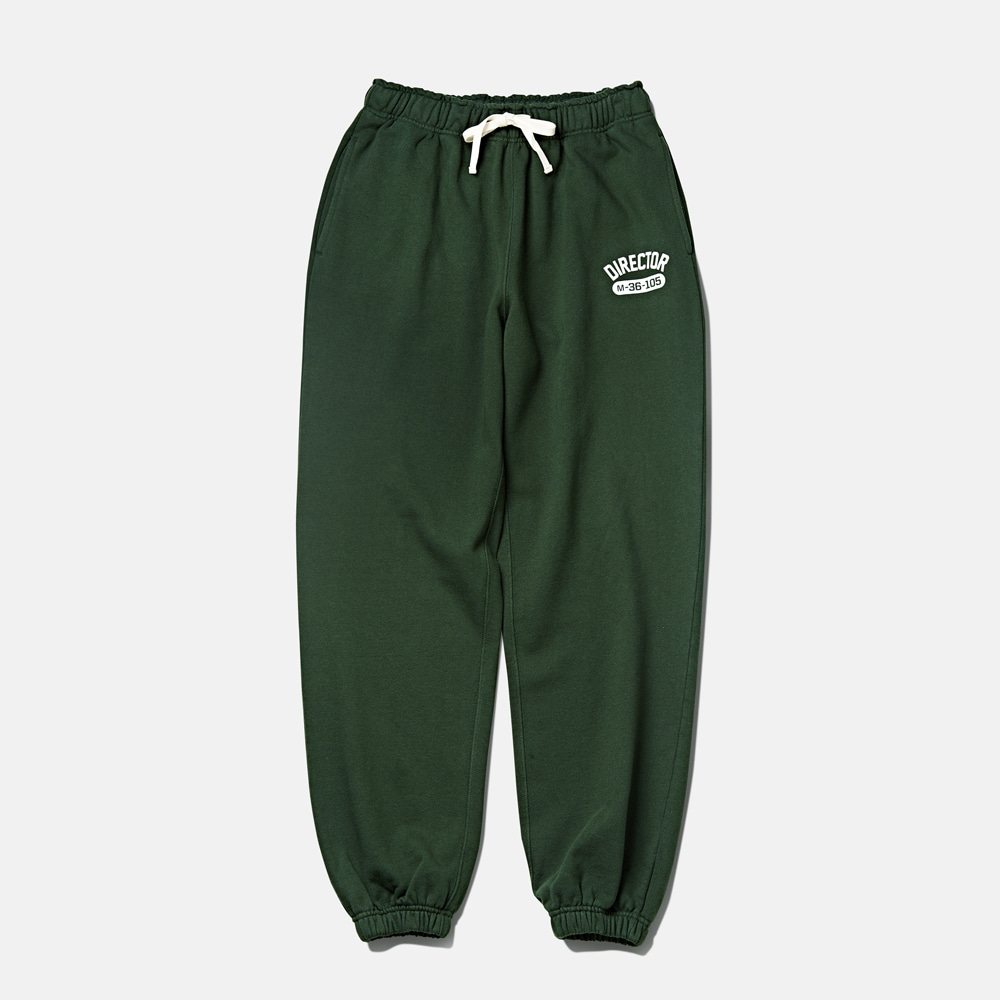DTRO+AFST Director Sweat Pants Forest GreenAMFEAST(암피스트)