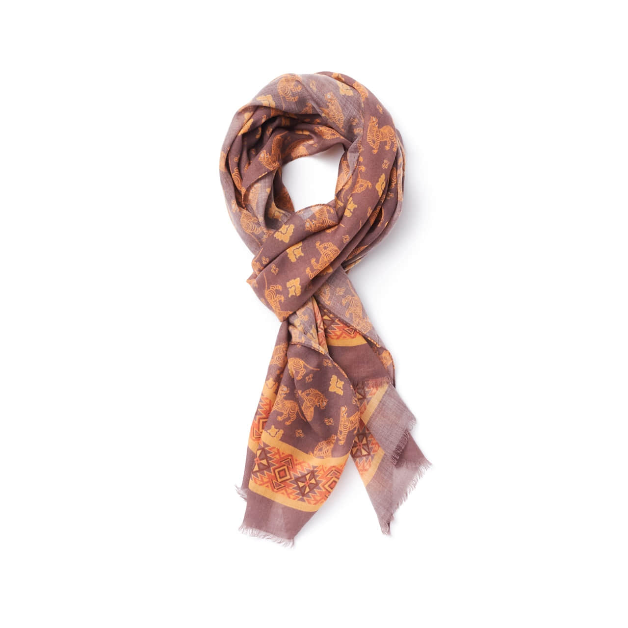 AMFEAST SCARF BROWN TIGER AMFEAST(암피스트)