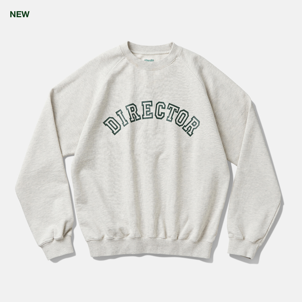 DTRO+AFST Director Sweat Shirts Melange GreyAmfeast(암피스트)