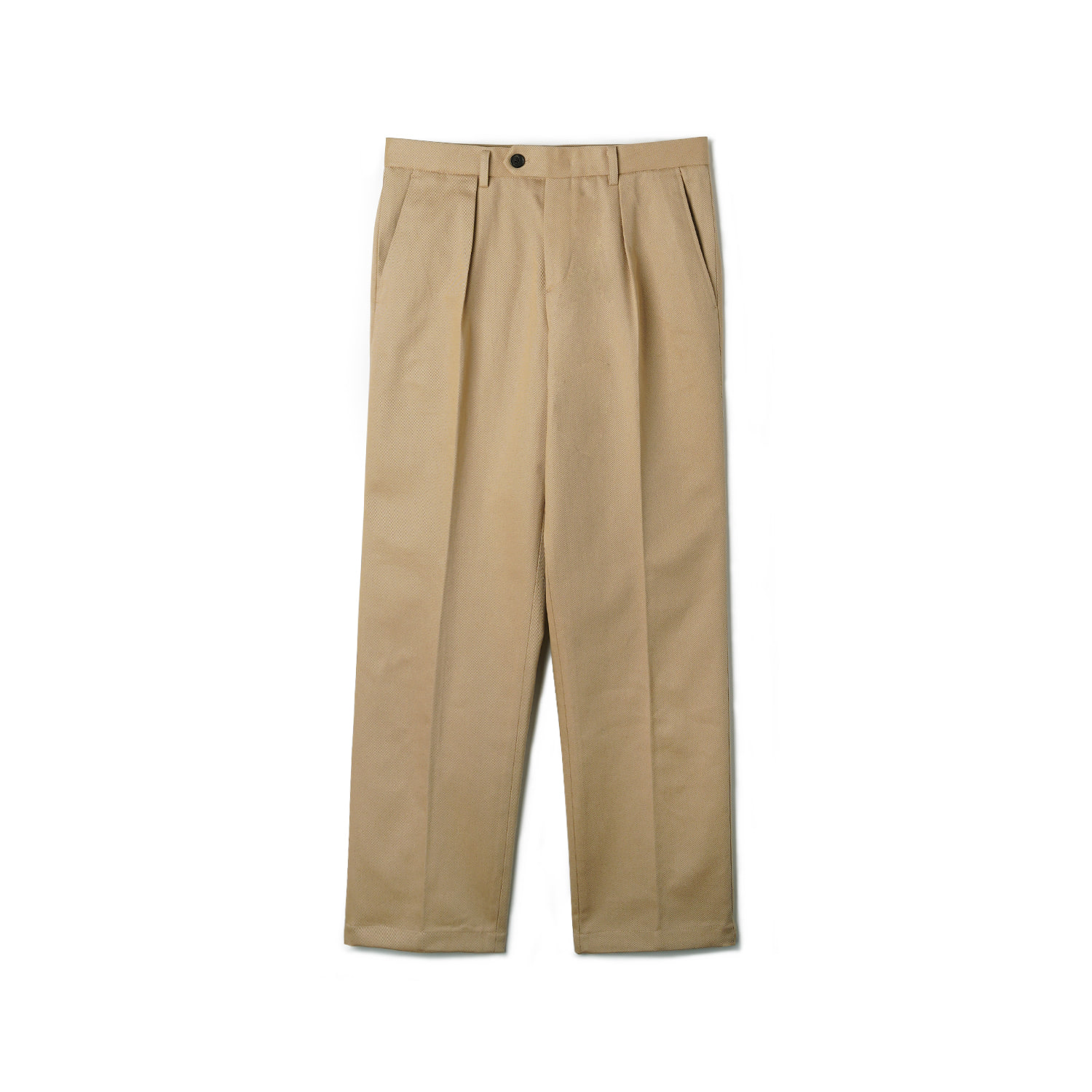 OPD Cotton One-Tuck Pants - BeigeBANTS(반츠)