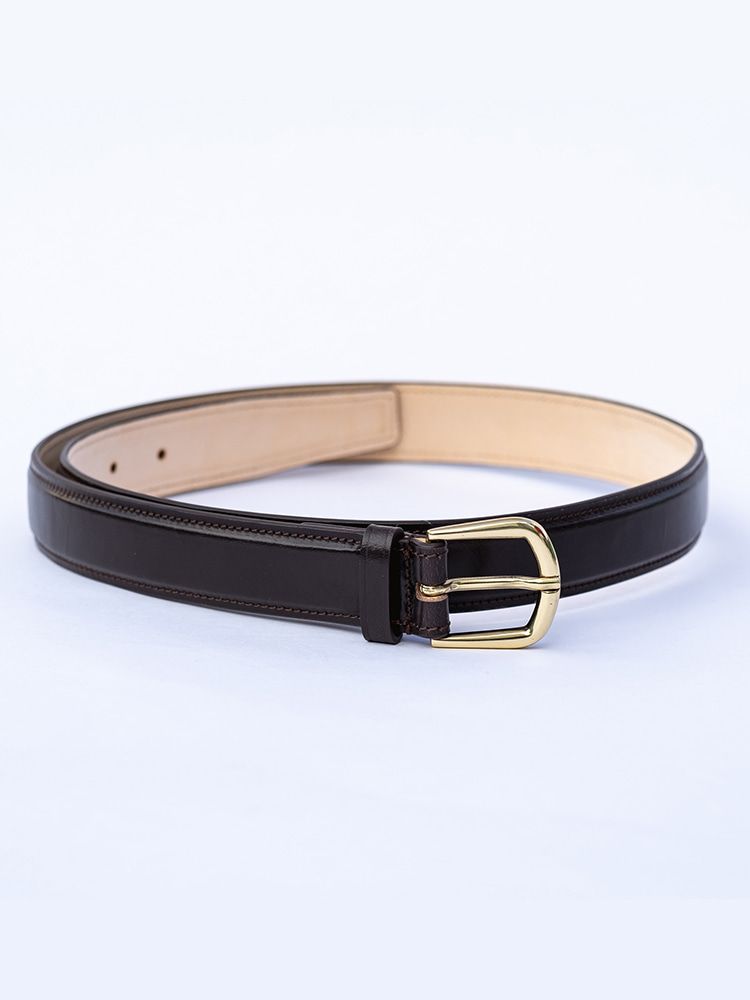 Bridle Leather Belt [DARK BROWN]BRIDLE'S(브라이들스)