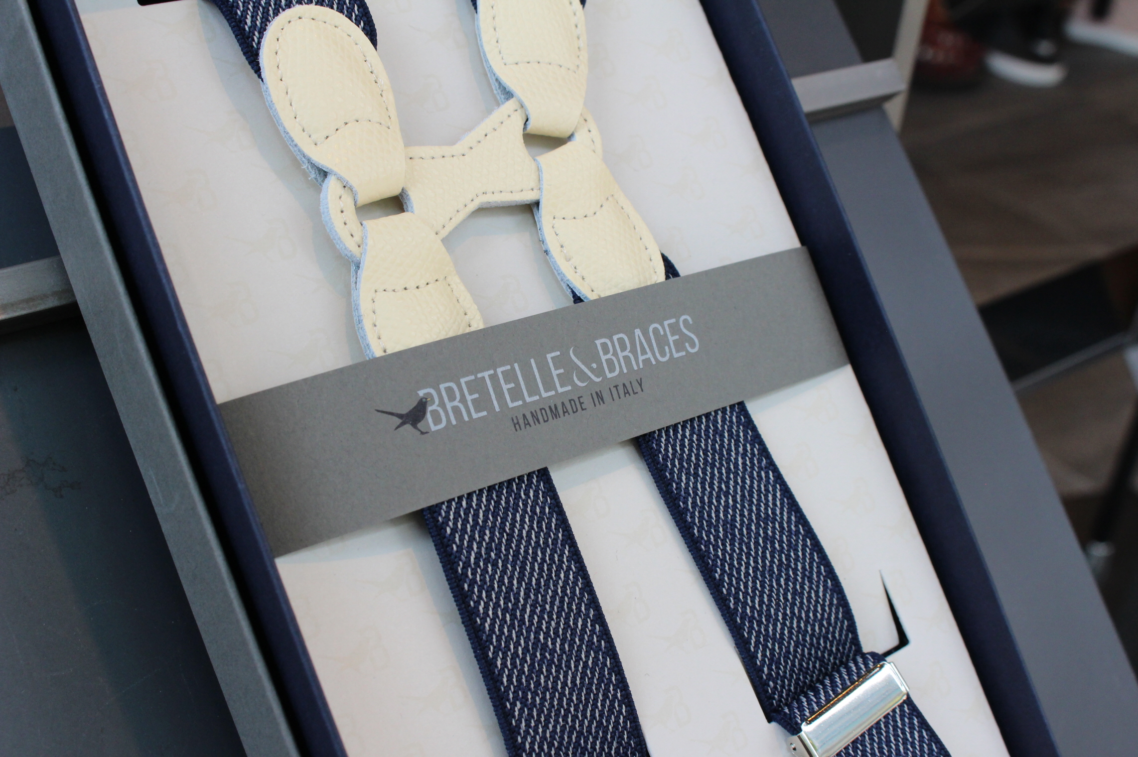 BRETELLE BRACES - blue