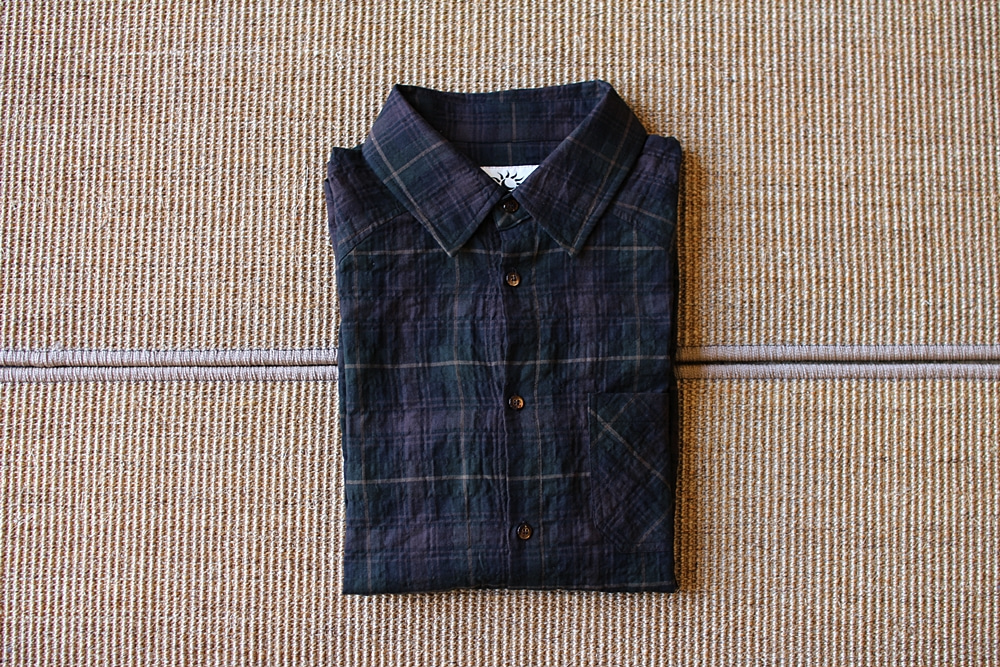 Raglan green-check shirtsRoopretelcham(루프리텔캄)