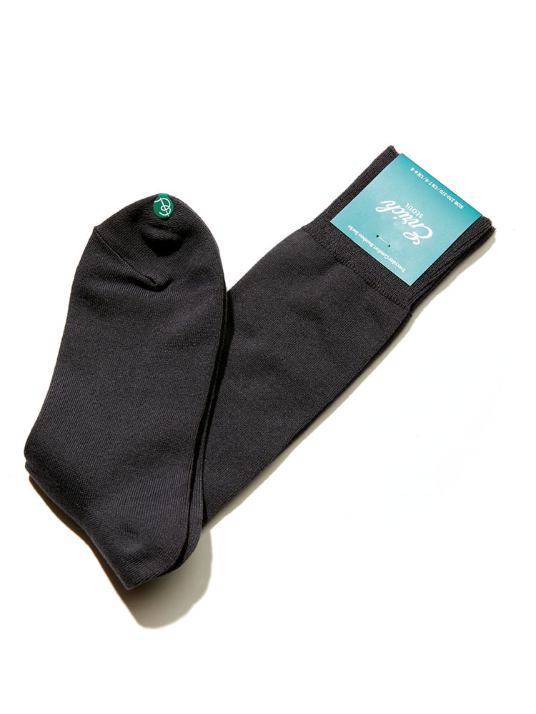 Bamboo Socks - Gray SolidEnrich(인리치)