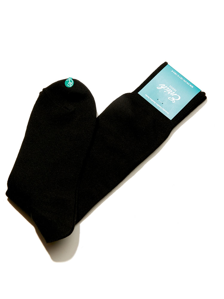 Bamboo Socks - Black SolidEnrich(인리치)