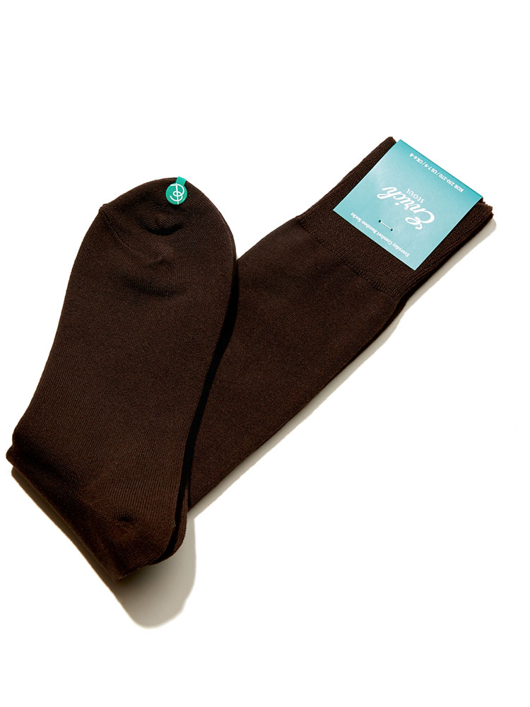 Bamboo Socks - Brown SolidEnrich(인리치)
