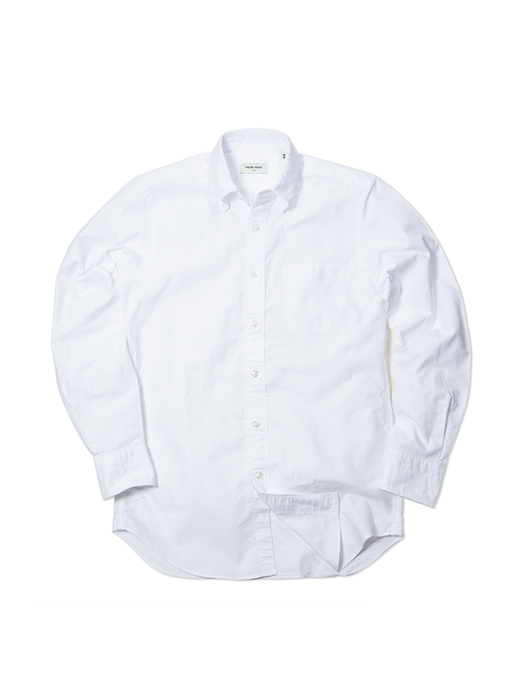 D-300 Oxford Shirt (WH)PRODE SHIRT(프로드셔츠)