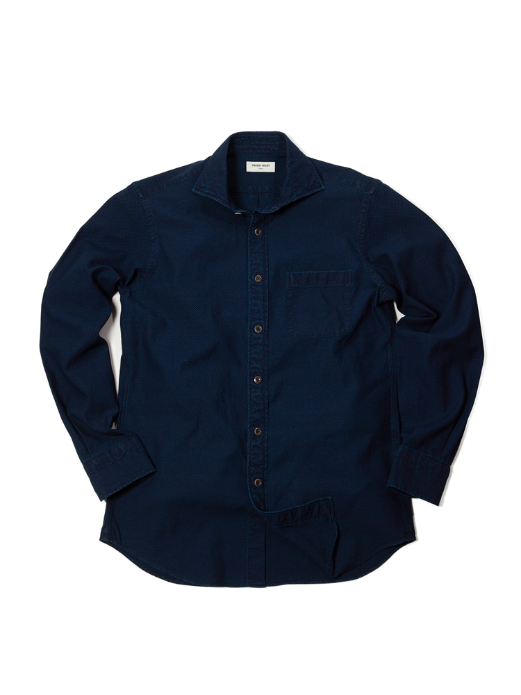 Royal Vintage Denim Shirt_RB (Royal Blue)PRODE SHIRT(프로드셔츠)