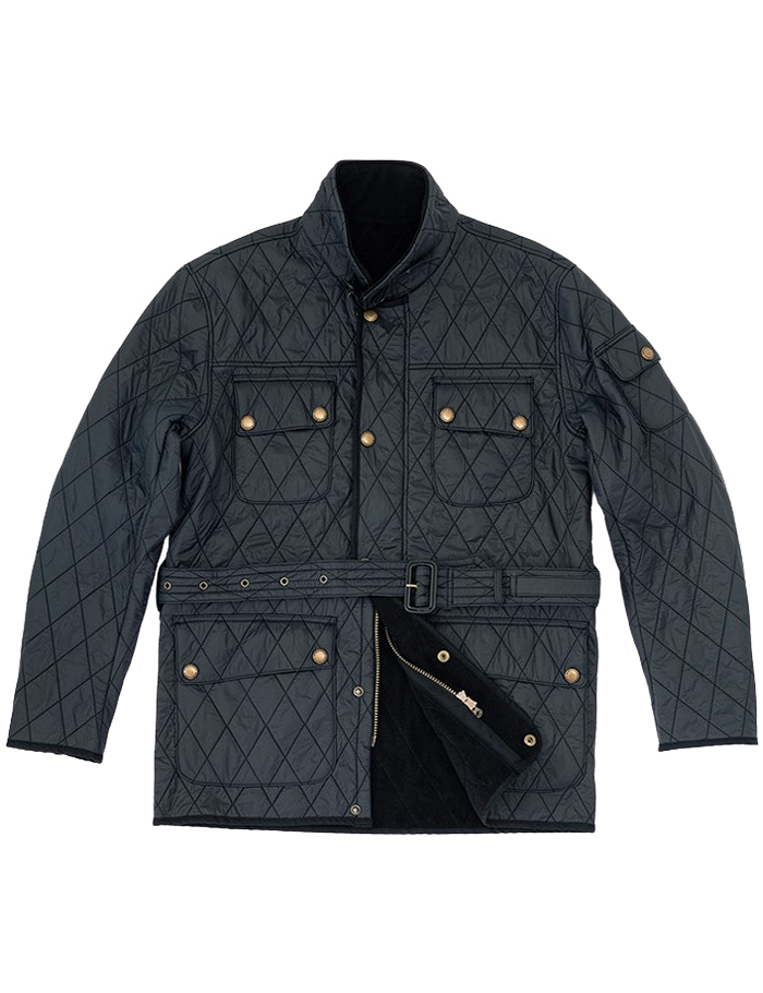 Racer Quilted Jacket NAVY ORTUS VASTERDS(올투스바스터즈)