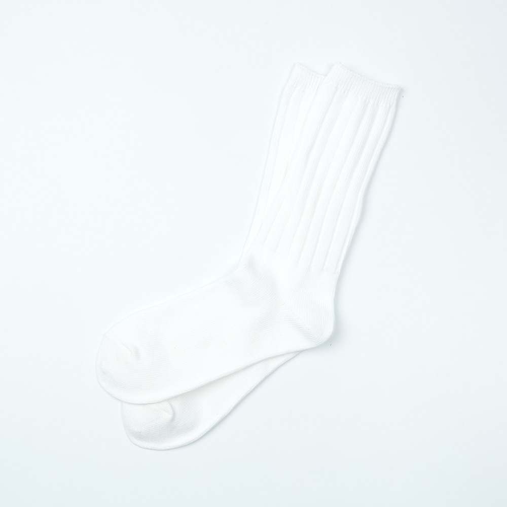Heavy Weight Socks - Plain WhiteENRICH(인리치)