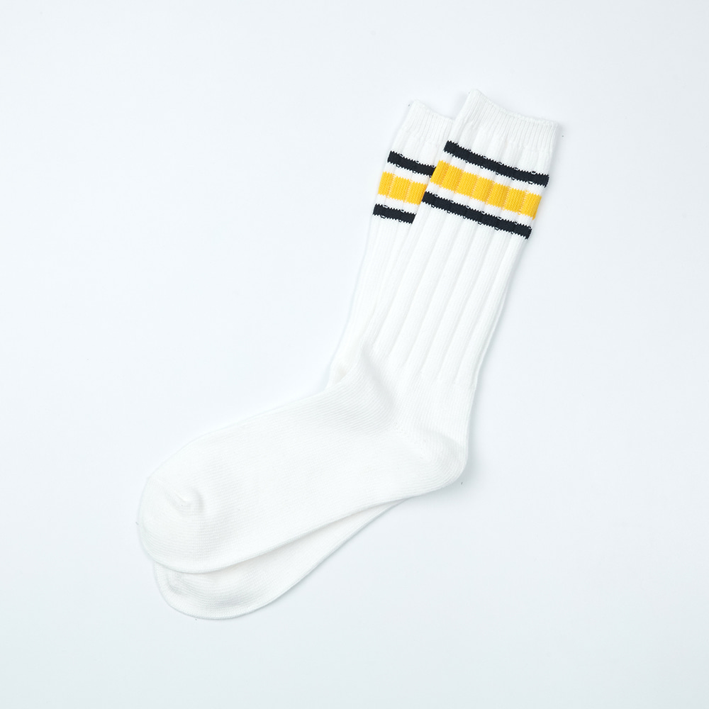 Heavy Weight Socks - Yellow & Black StripesENRICH(인리치)