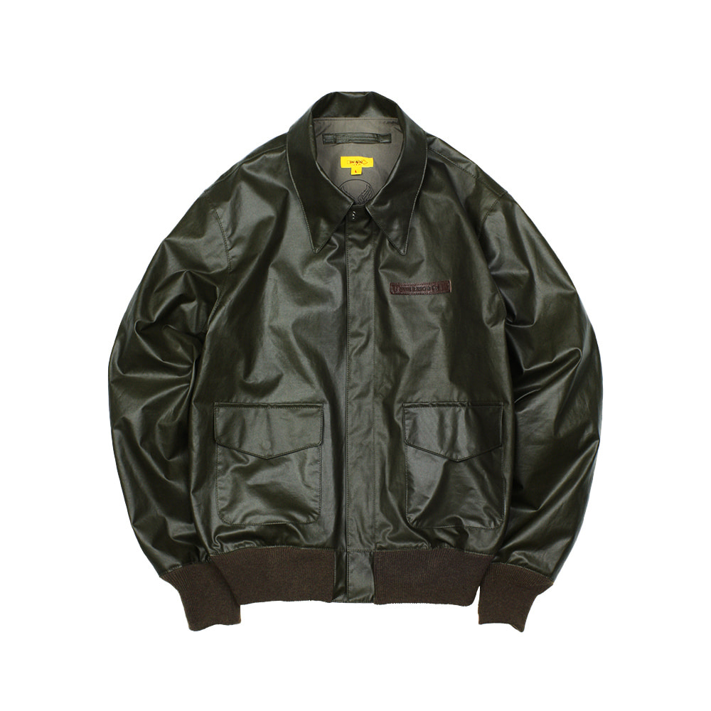 CAPTAIN A-2 FLIGHT JACKET [BLACK OLIVE]THE RESQ&Co(더레스큐컴패니)