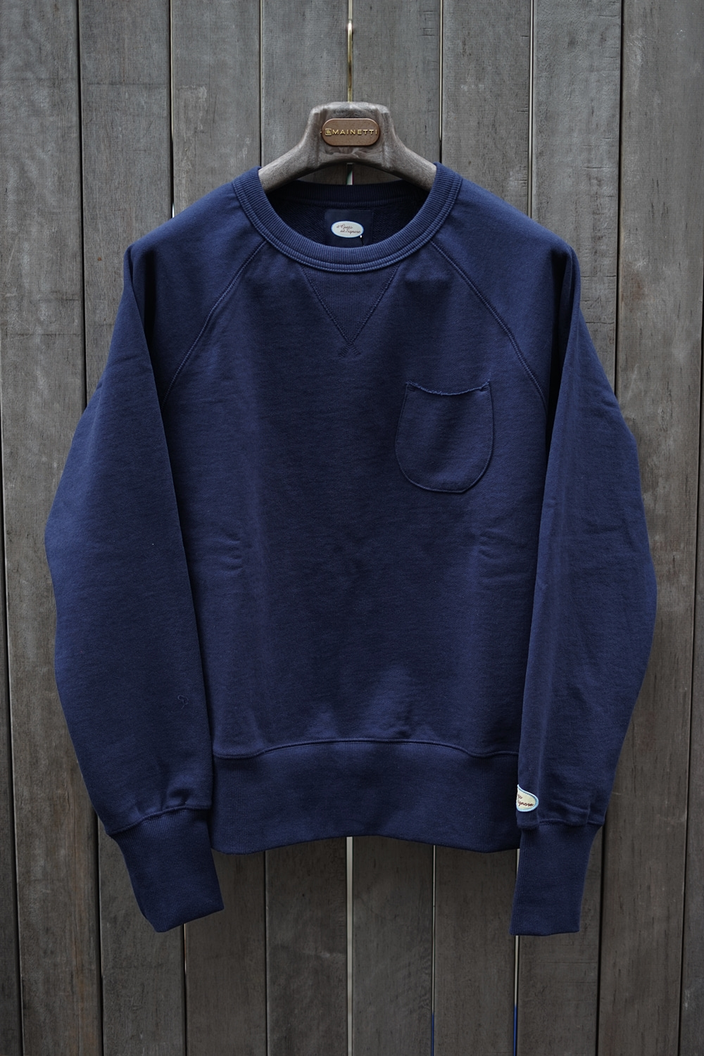 Sweat shirt NavyIL GUSTO DEL SIGNORE일 구스또 델 시뇨레