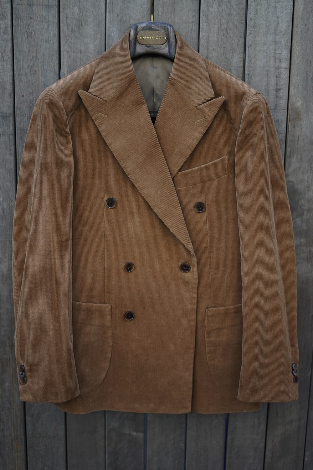 Double corduroy jacket camelCOMPLETO(꼼플레토)
