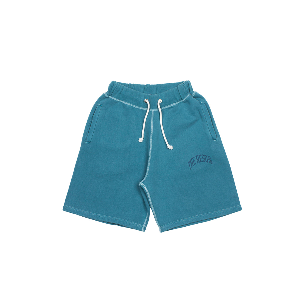 BALLGAME SHORTS(GARMENT DYED) [WASHED OUT BLUE]THE RESQ(더레스큐)