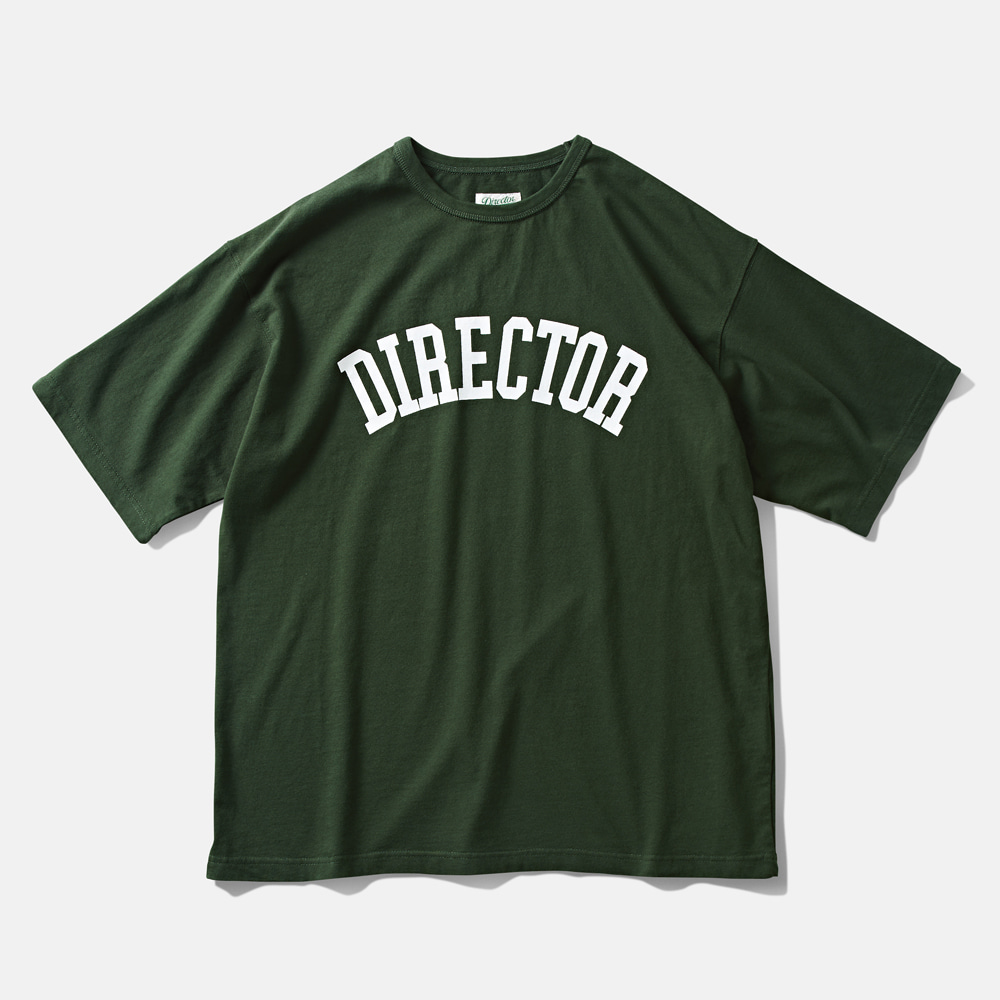 DTR1960 DTRO+AFST DIRECTOR S/S TEE FOREST GREENAMFEAST(암피스트)