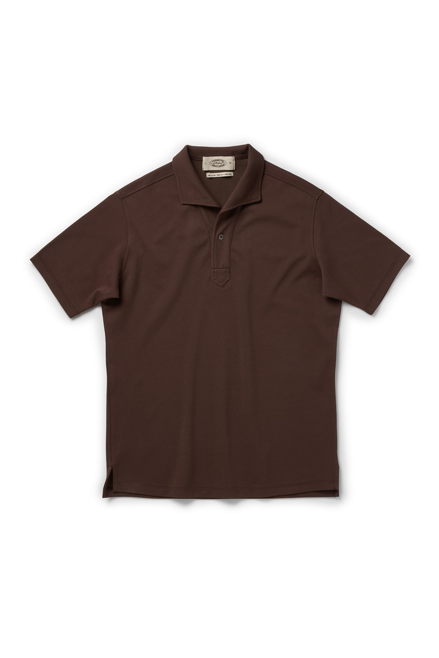 BROWN SIGNATURE POLO SHIRTAMFEAST(암피스트)