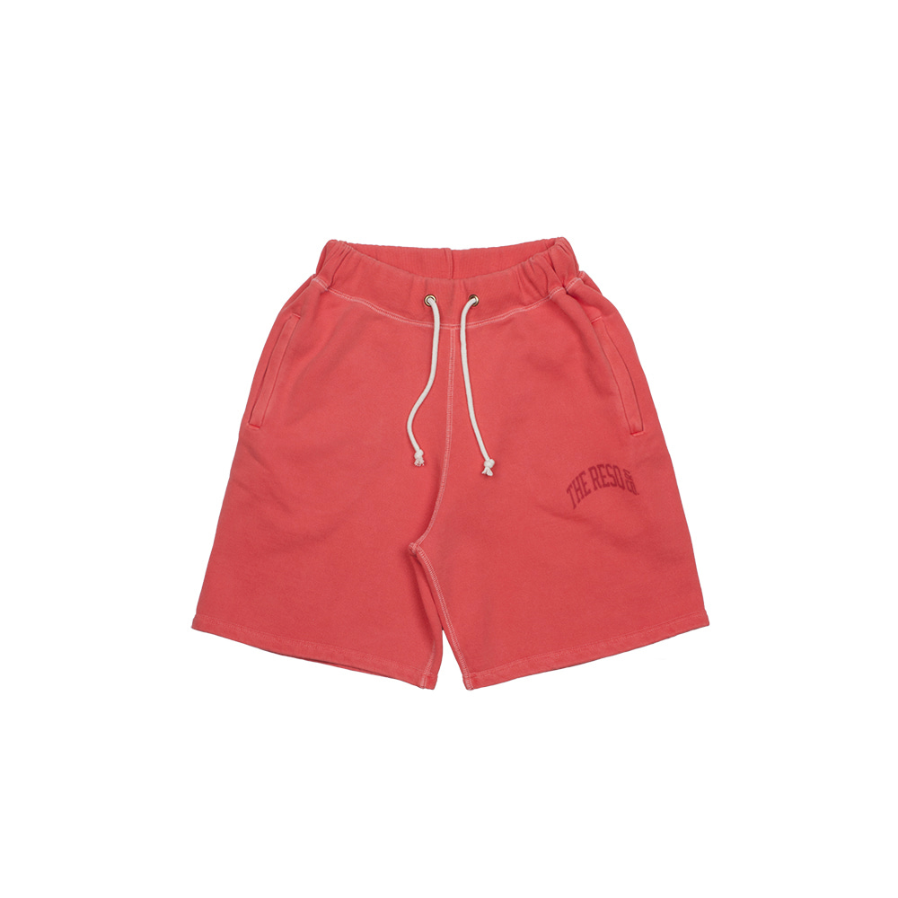 BALLGAME SHORTS(GARMENT DYED) [SUN FADED RED]THE RESQ(더레스큐)