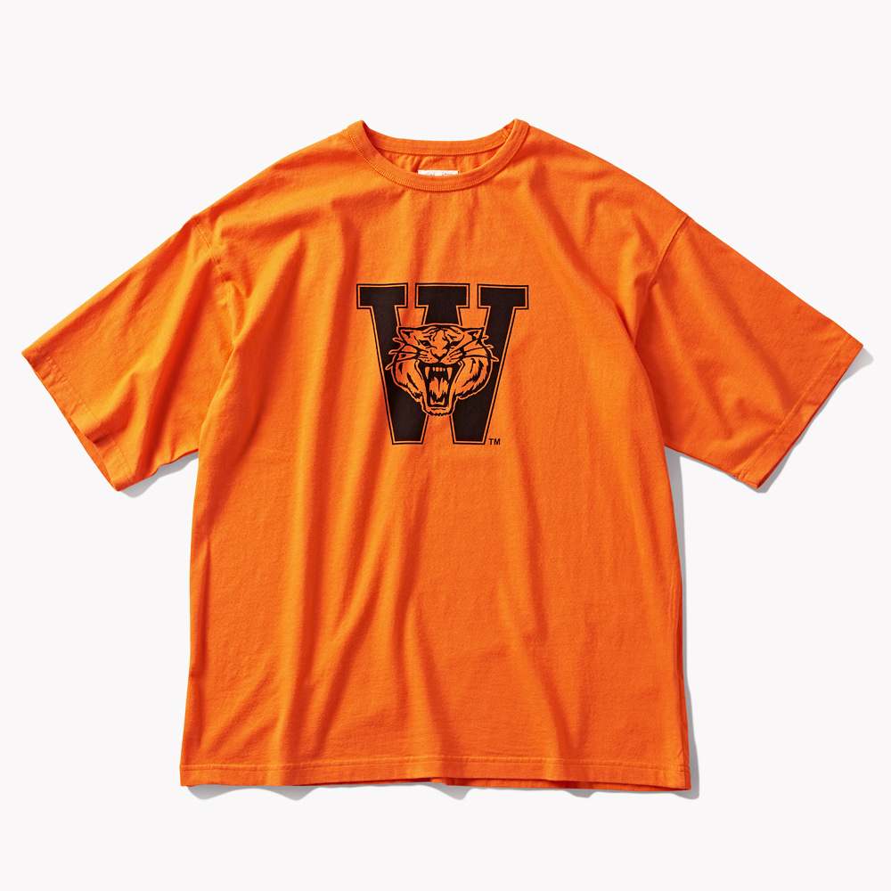 DTRO+AFST W.TIGERS S/S TEE ORANGEAMFEAST(암피스트)